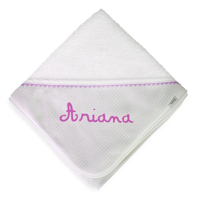toallas de baño rosa